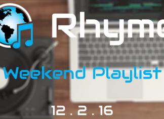 weekend playlist 12/2/16