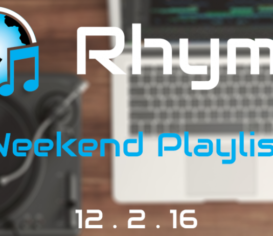 weekend playlist 12/2/16