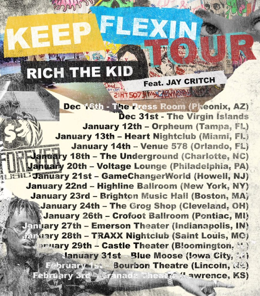 keep flexin tour