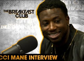 gucci mane on the breakfast club
