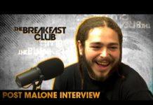 Post Malone Breakfast Club