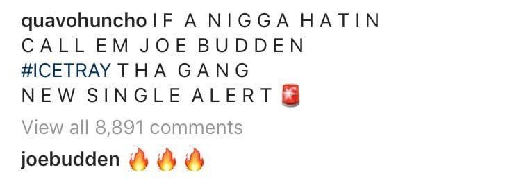 joe budden comment
