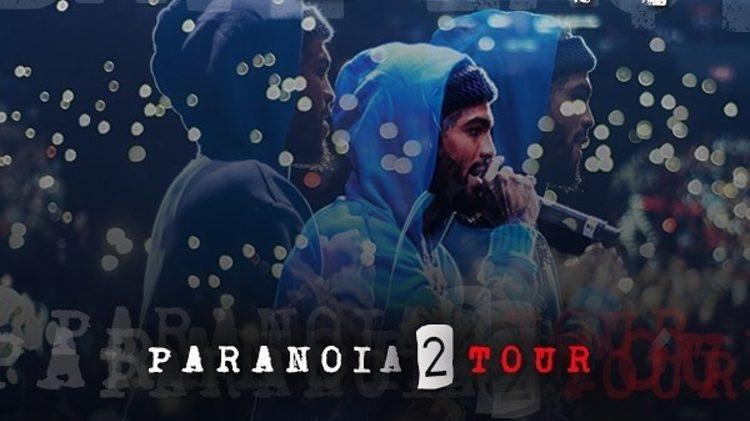 paranoia 2 tour