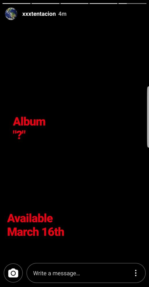 xxxtentacion question mark release date