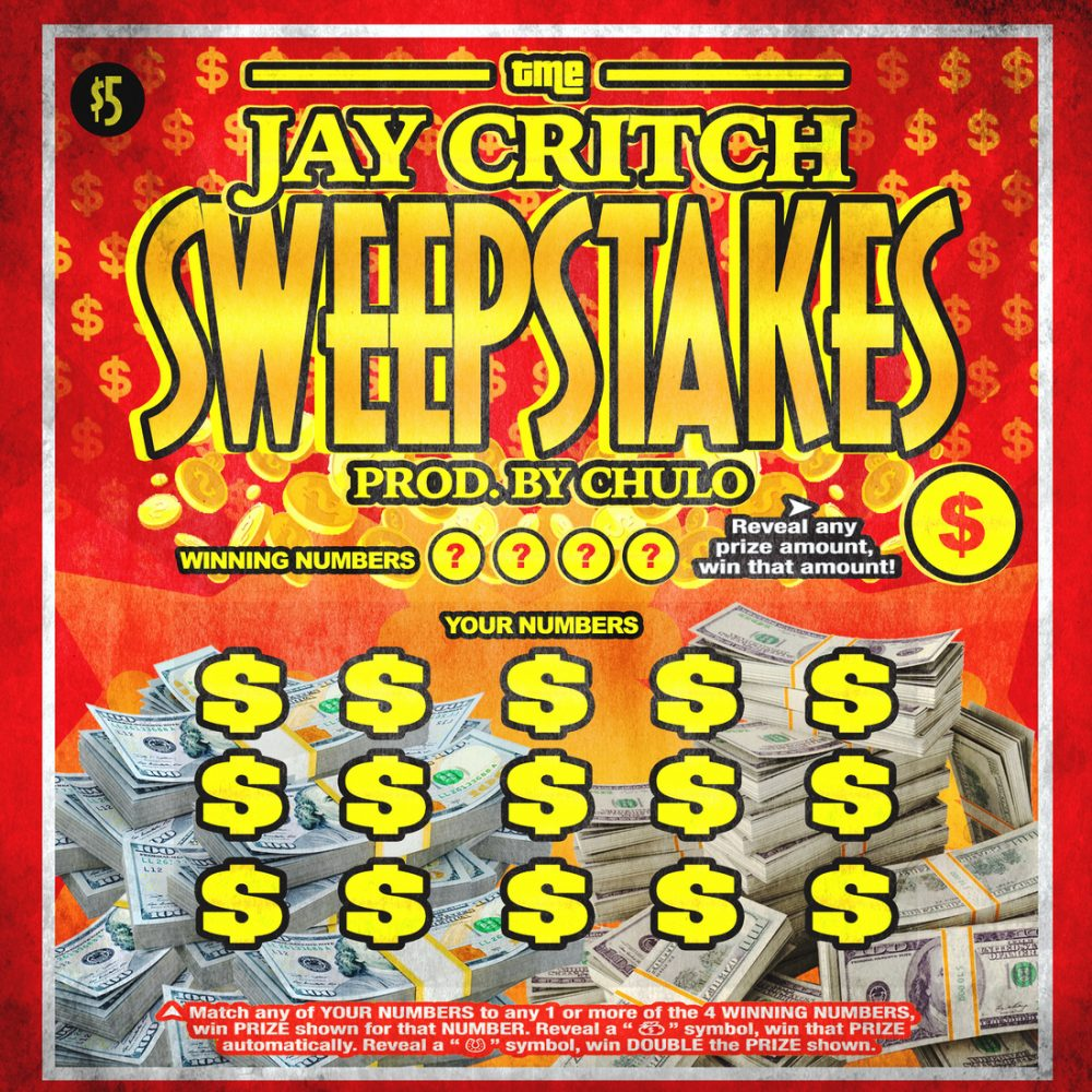 jay critch sweepstakes