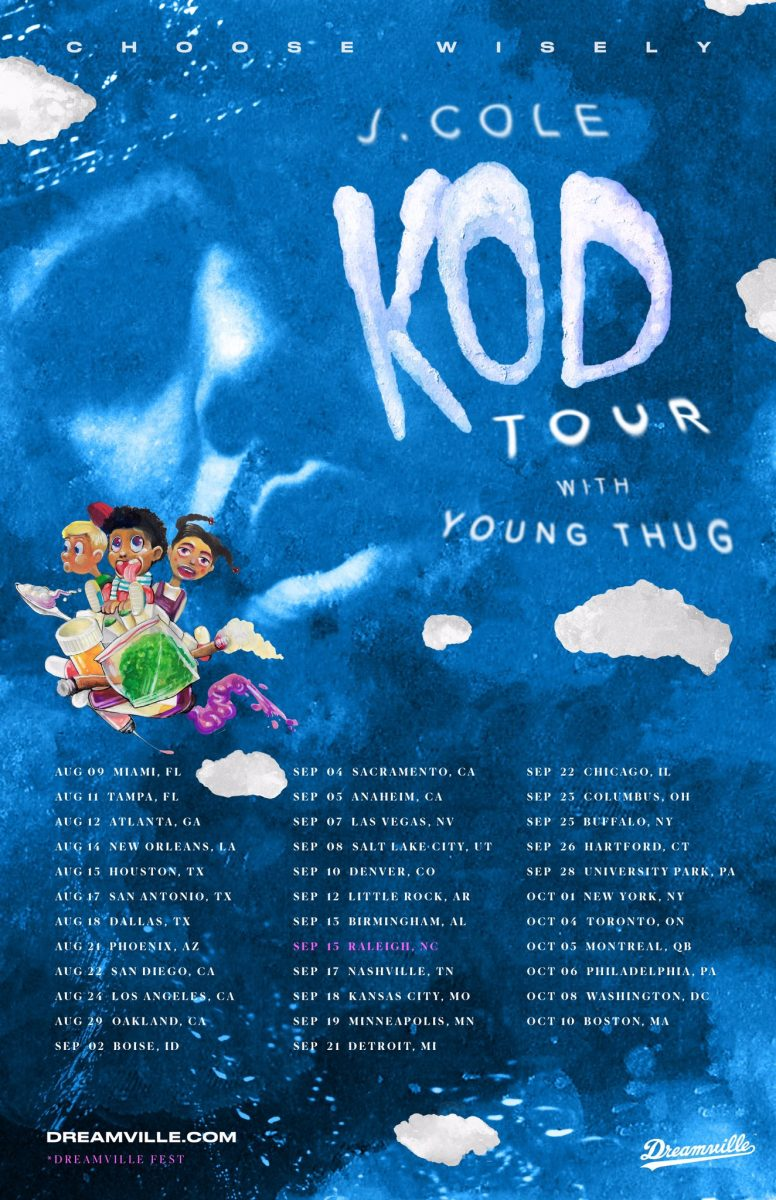 kod tour dates