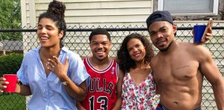 chance the rapper engaged