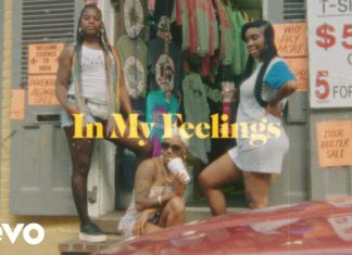 in my feelings music video