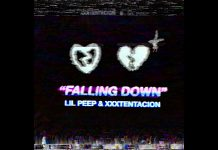 lil peep xxxtentacion falling down stream