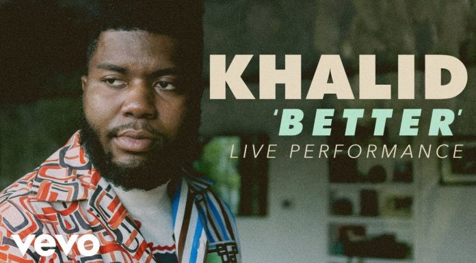 khalid better live performance