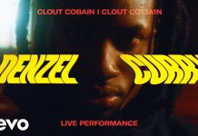 clout cobain live performance