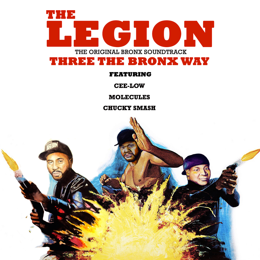 the legion three the bronx way