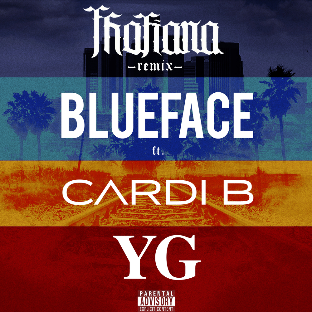 blueface thotiana remix cardi b yg