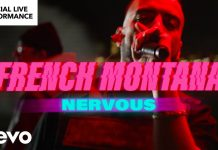 french montana nervous performance