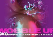chris brown g eazy nicki minaj wobble up