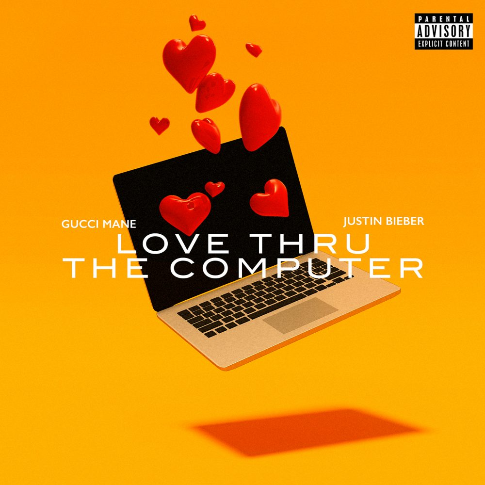 gucci mane justin bieber love thru the computer