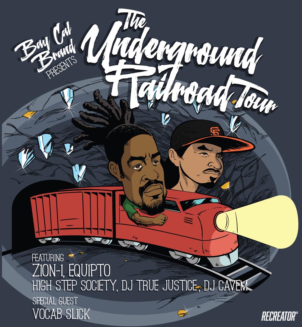 the underground railroad tour
