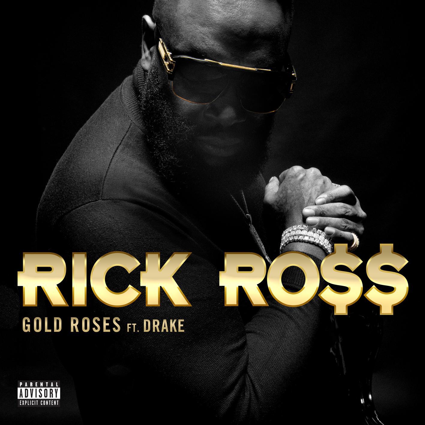 rick ross drake gold roses