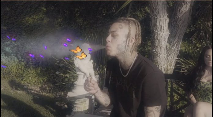 lil skies going off music video