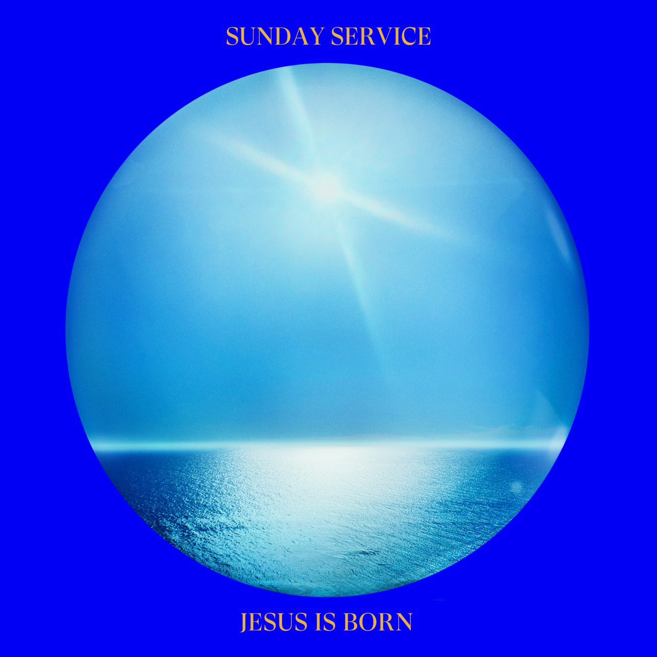 kanye west sunday service jesus is born