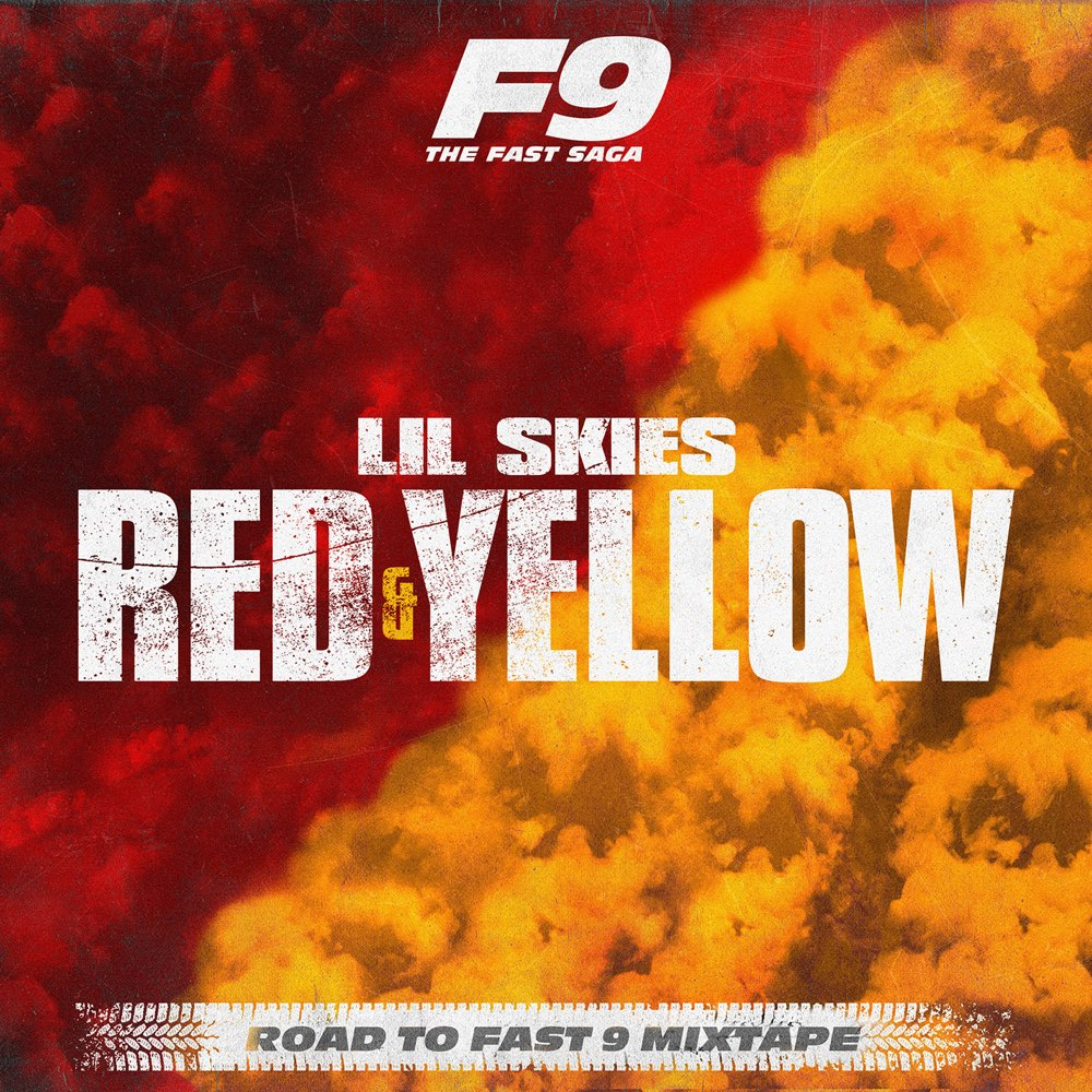 lil skies red and yellow